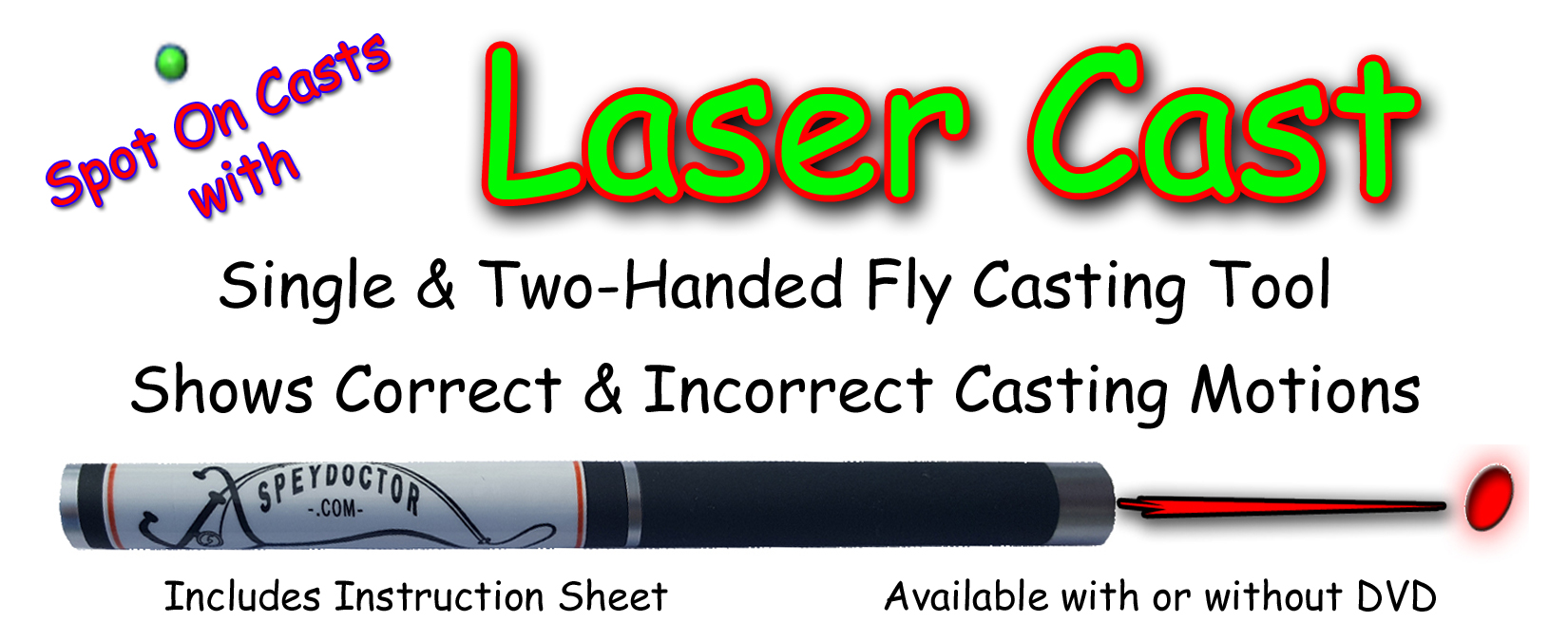 Laser Cast: Fly and Spey Casting Tool