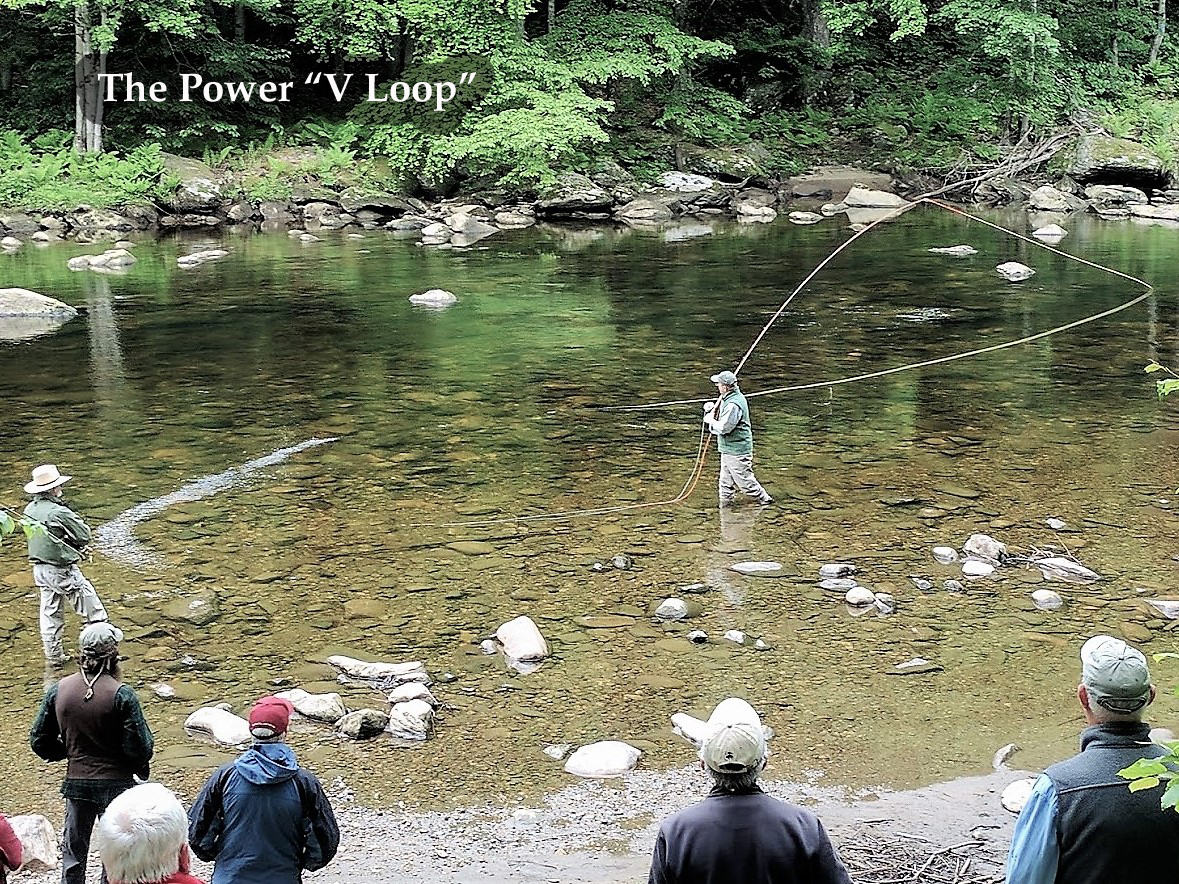Power V Loop Spey Cast