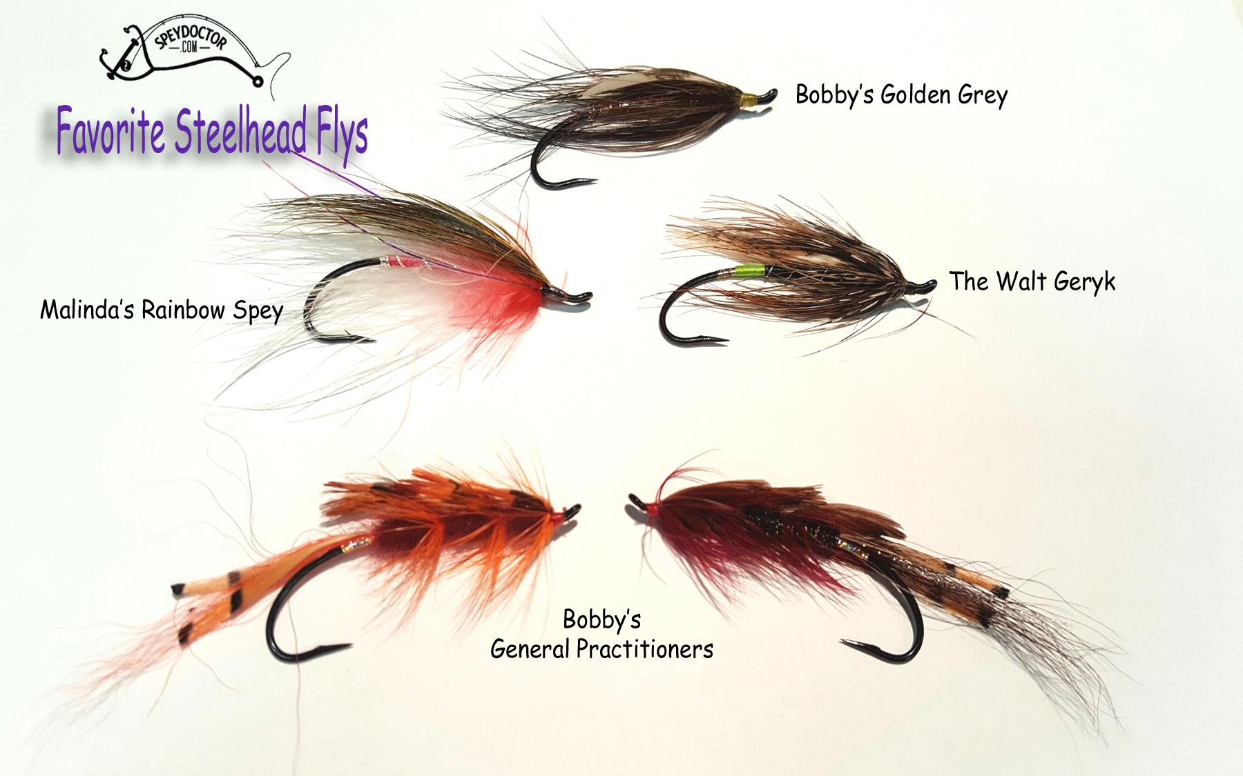 Favorite Steelhead Flys